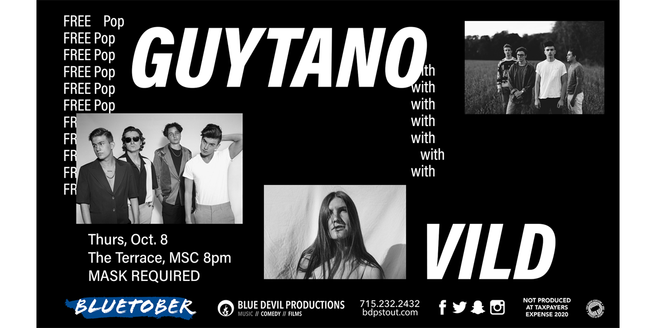 Guytano with Vild Event Logo