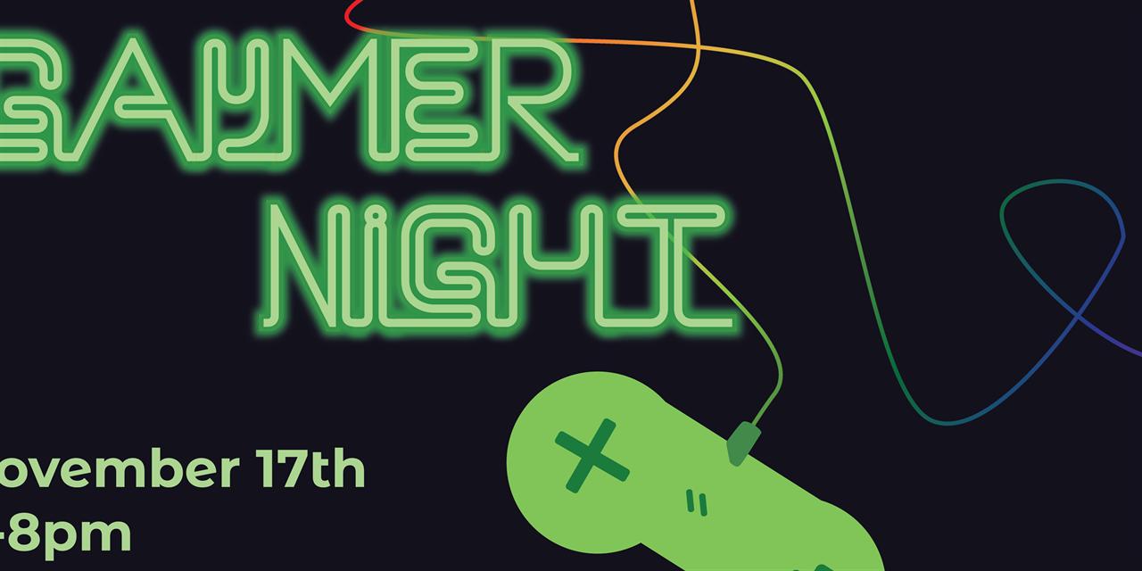 Gaymer Night Event Logo