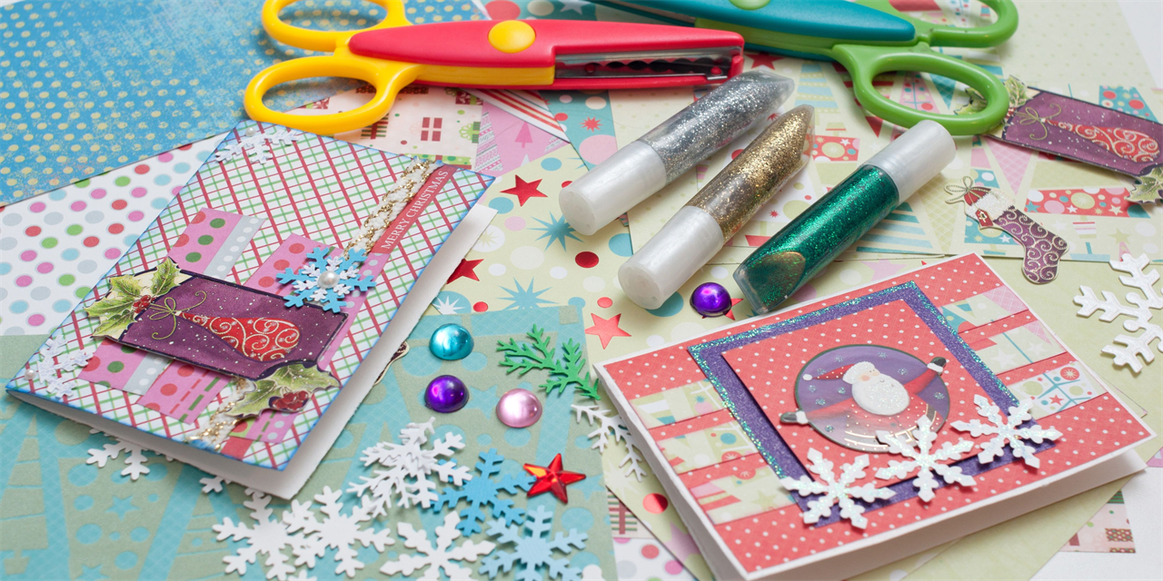 Decorating Cards with AEW/End of Semester Virtual Tips/Tricks Event Logo