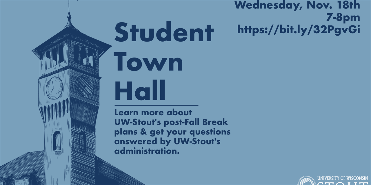 Student Town Hall Event Logo