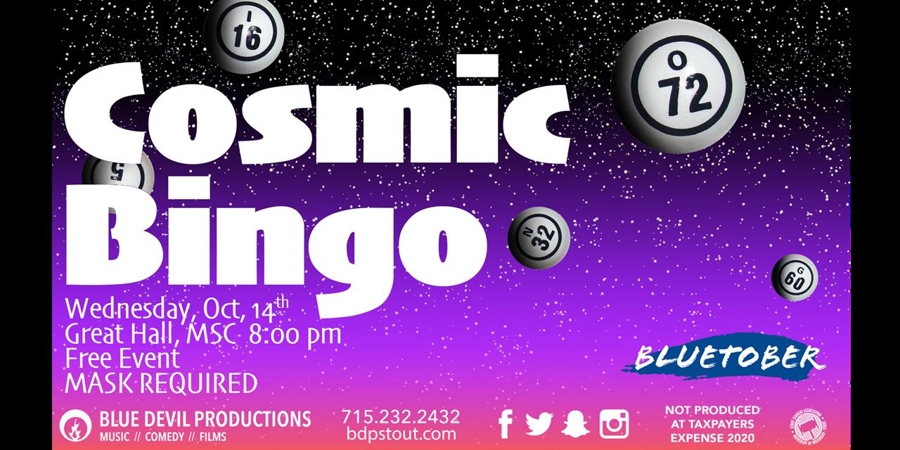 Cosmic Bingo Event Logo