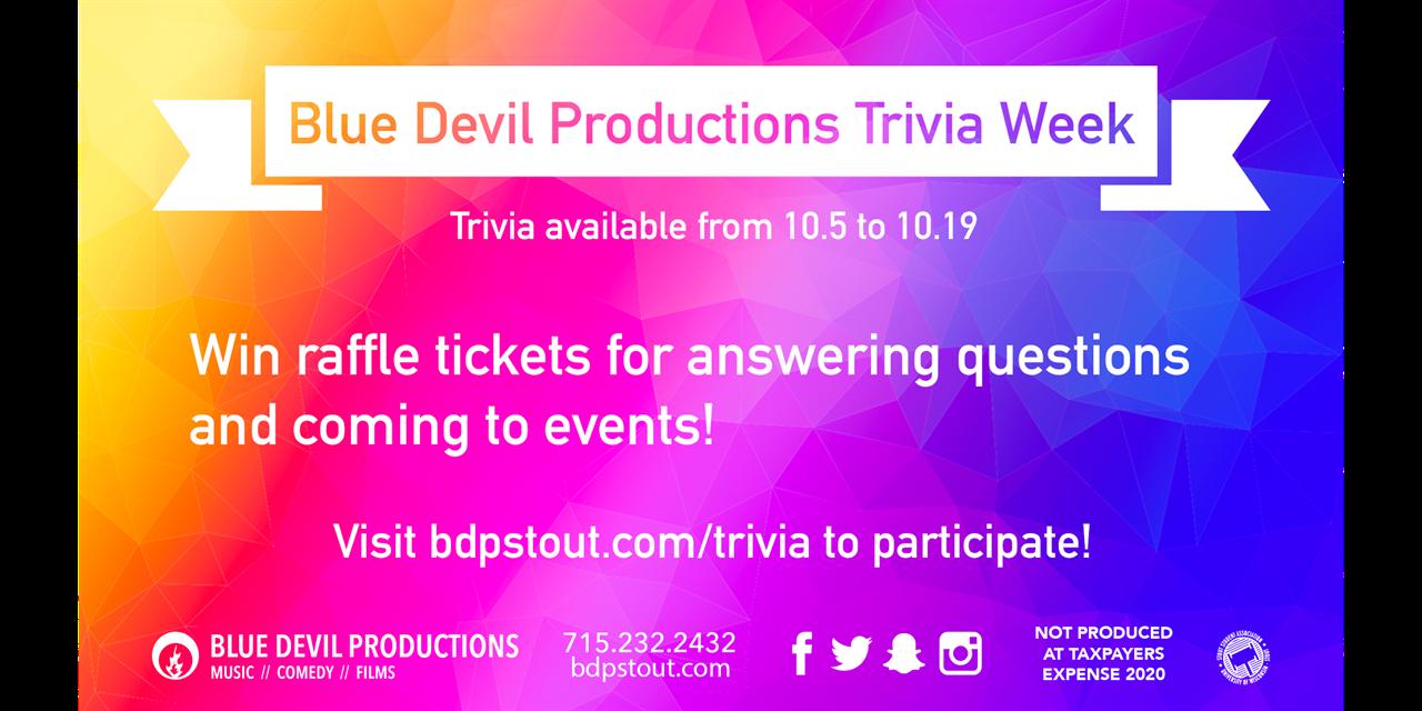 BDP Virtual Trivia Event Logo
