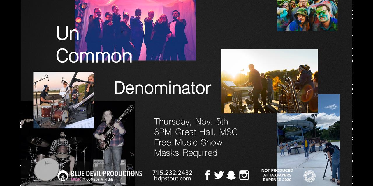 Uncommon Denominator Event Logo
