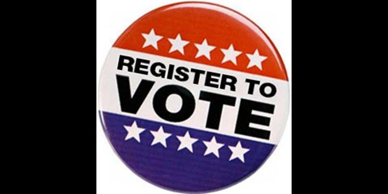 Voter registrations Event Logo