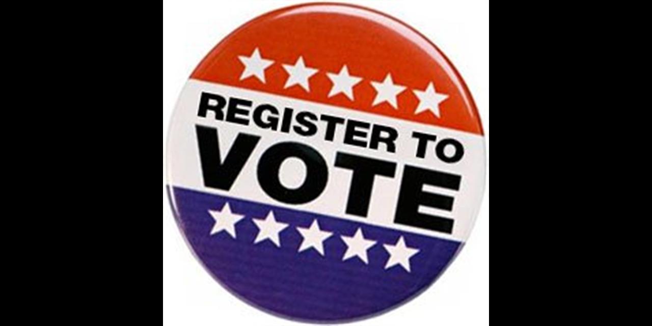 Voter Registration Event Logo