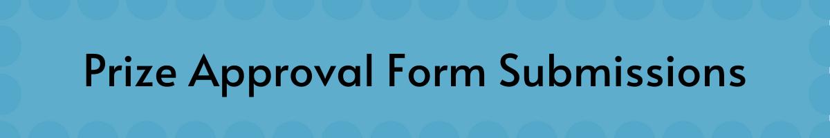 Event Prize Claim Form
