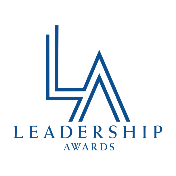 Logo that says Leadership Awards