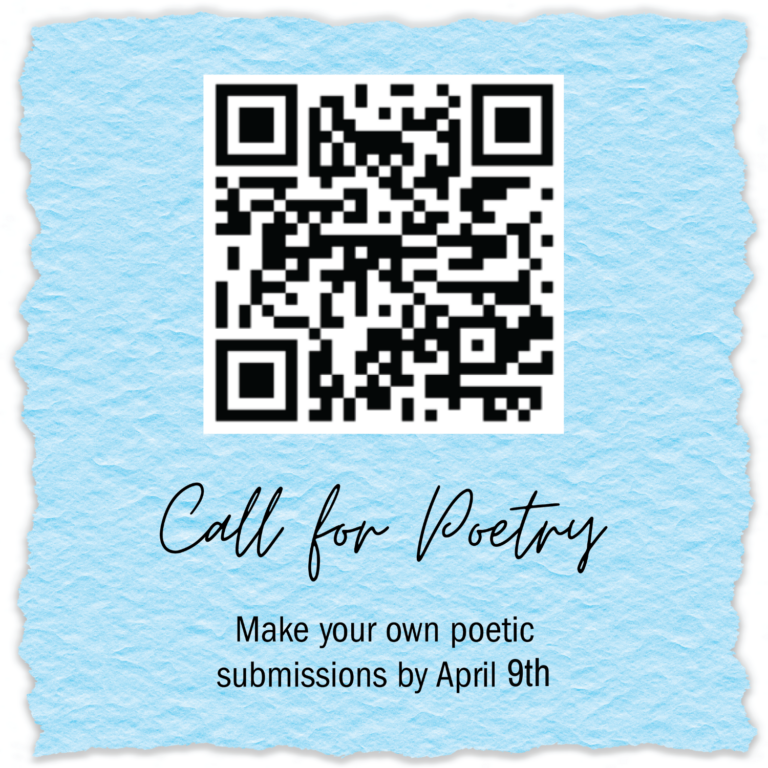 Call for Poetry - Extension!