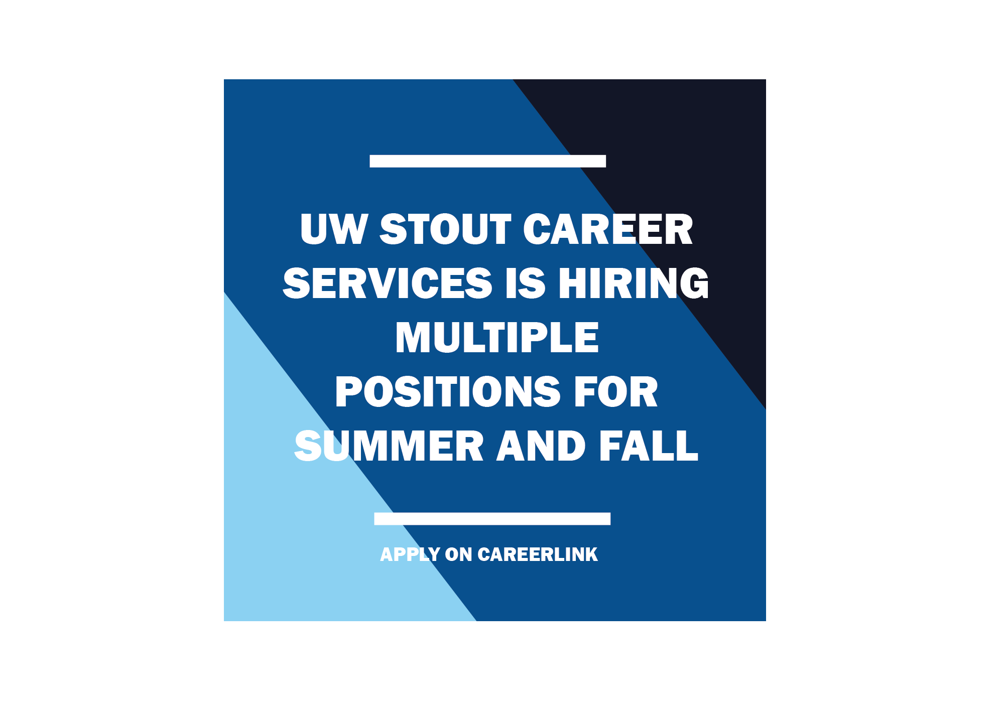 Career Services Hiring