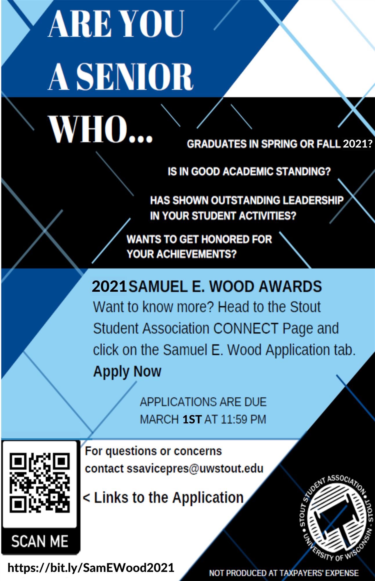 2021 Samuel E Wood Medallion award poster