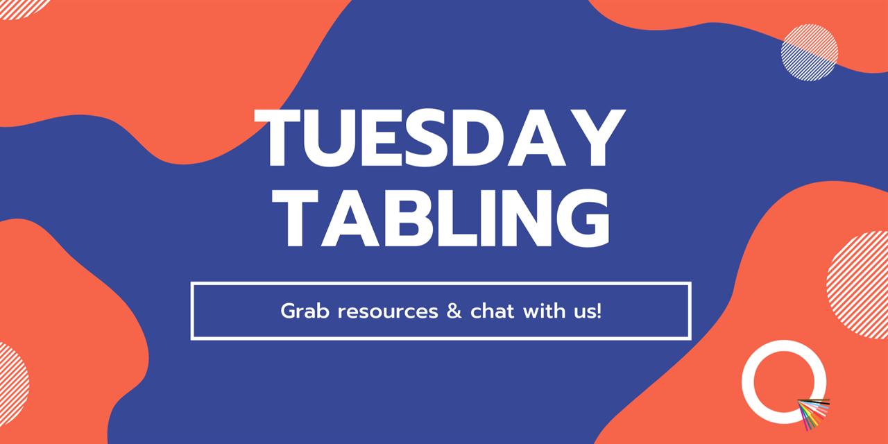 Qube | Tuesday Tabling Event Logo