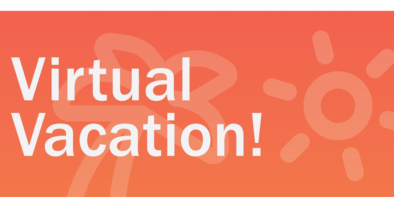 Virtual Vacation Event Logo