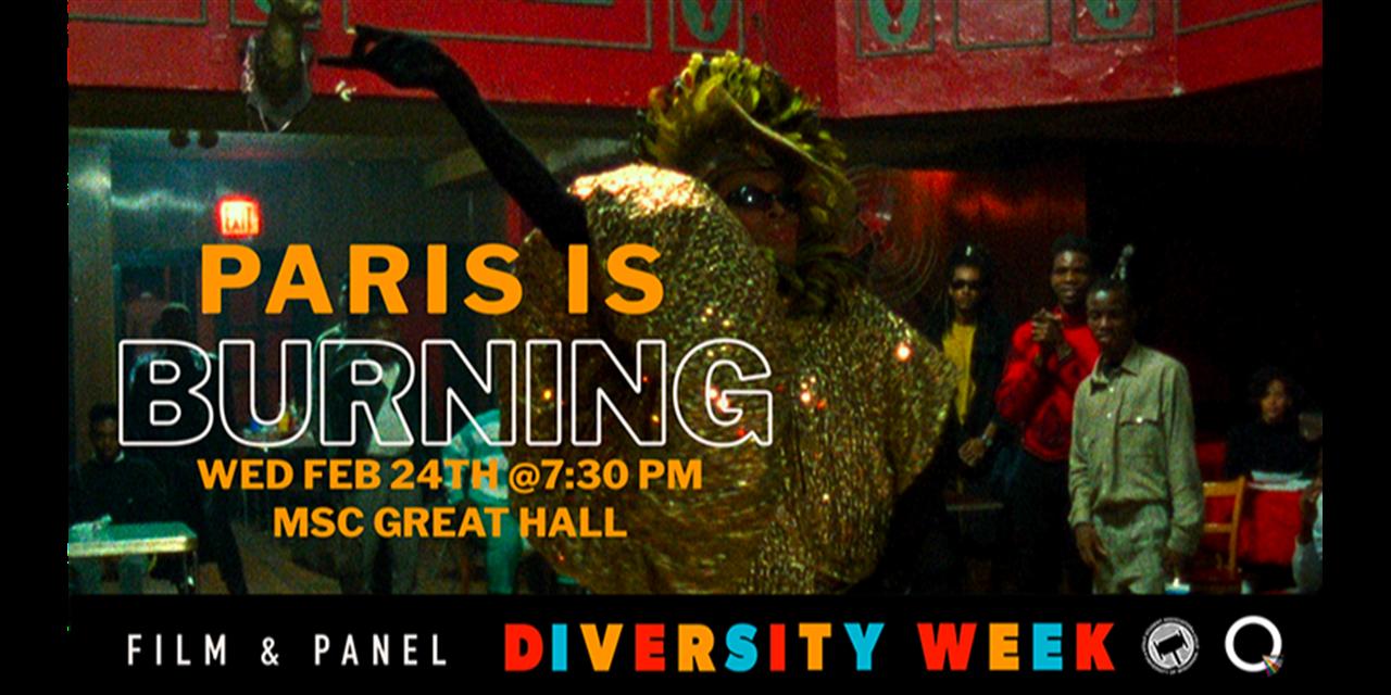 Paris is Burning: Film & Panel Event Logo