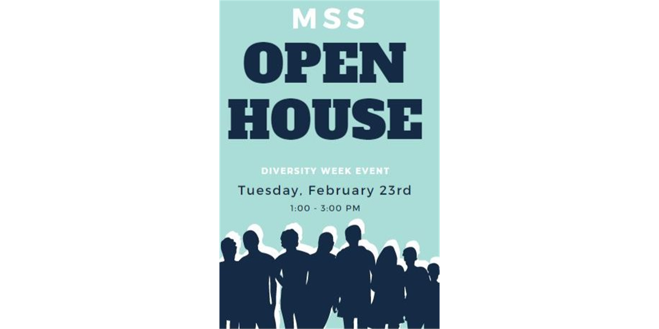MSS Open House Event Logo