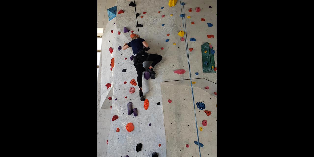 Virtual Clinic: Stretch for Climbing   URec Event Logo