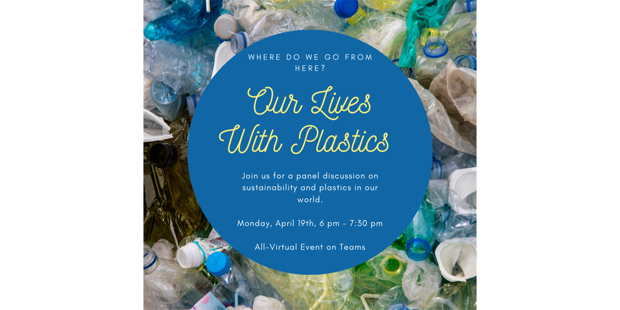 Plastic Waste & Recycling Discussion Panel Event Logo
