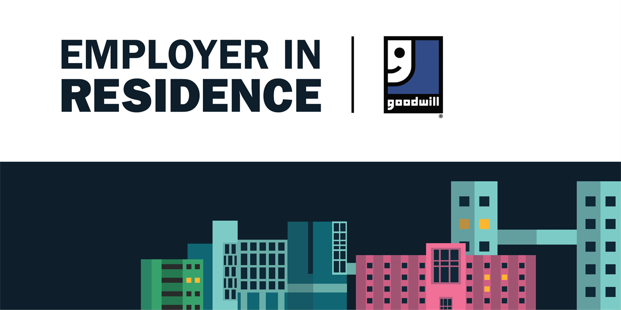 Goodwill   Employer in Residence Event Logo