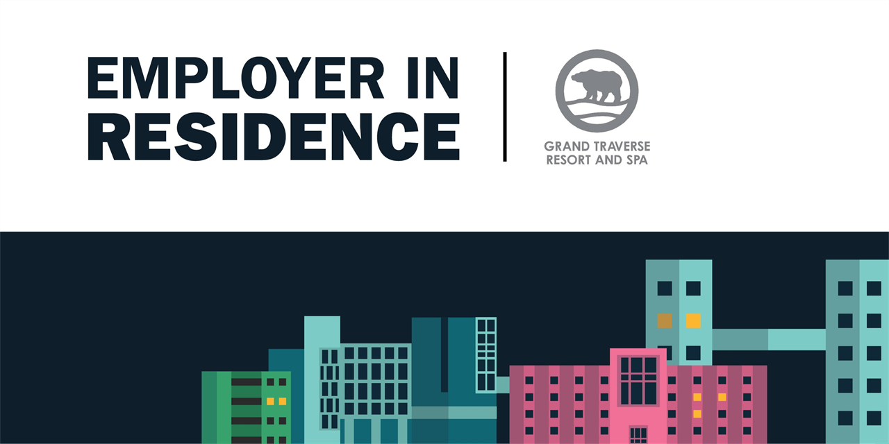 Grand Traverse Resort and Spa | Employer in Residence Event Logo