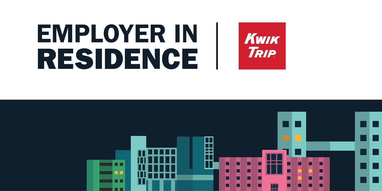 Kwik Trip | Employer in Residence Event Logo