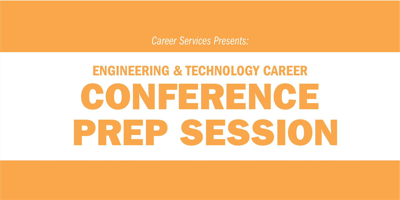 Career Conference Prep for Engineering & Technology Industries Event Logo