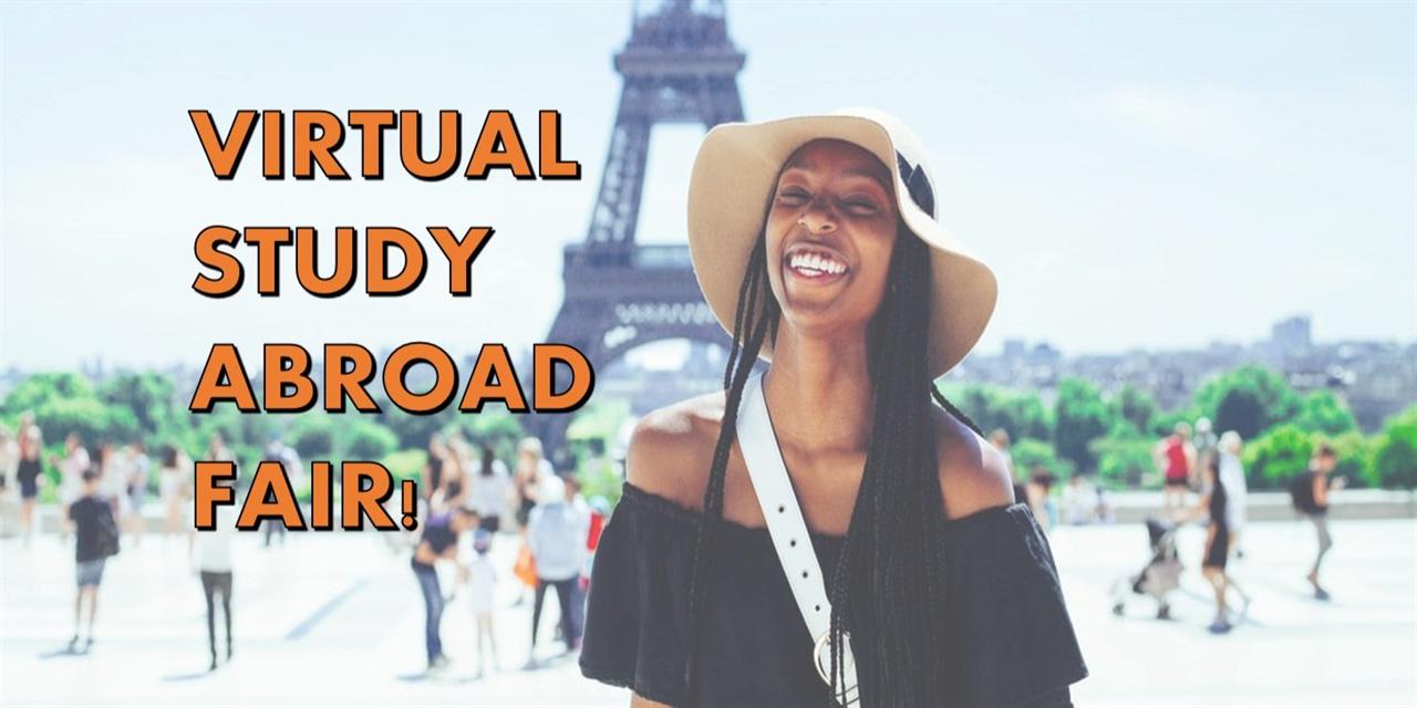 Virtual Study Abroad Fair Event Logo