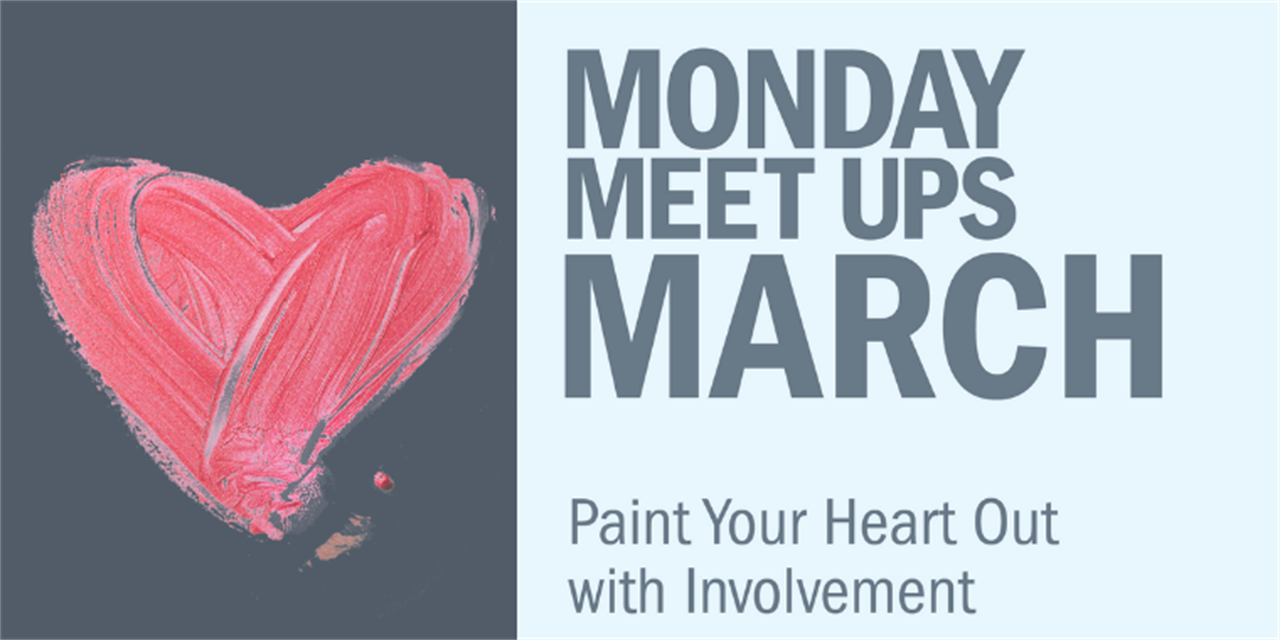 Monday Meet Up | Paint Your Art Out Event Logo