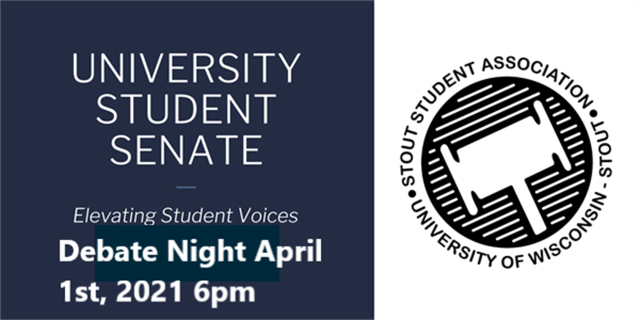 SSA Elections Debate Night Event Logo
