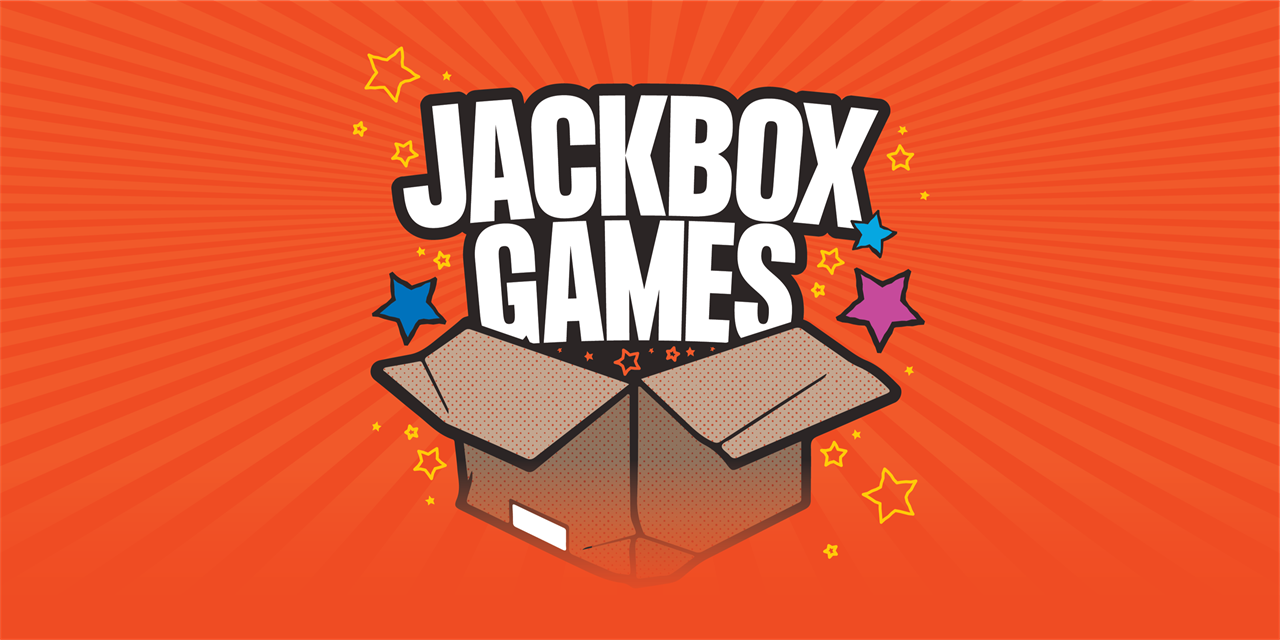 Jackbox Games (and Pizza!) Event Logo