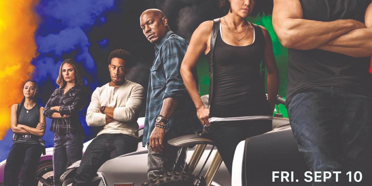 F9: The Fast Saga Event Logo