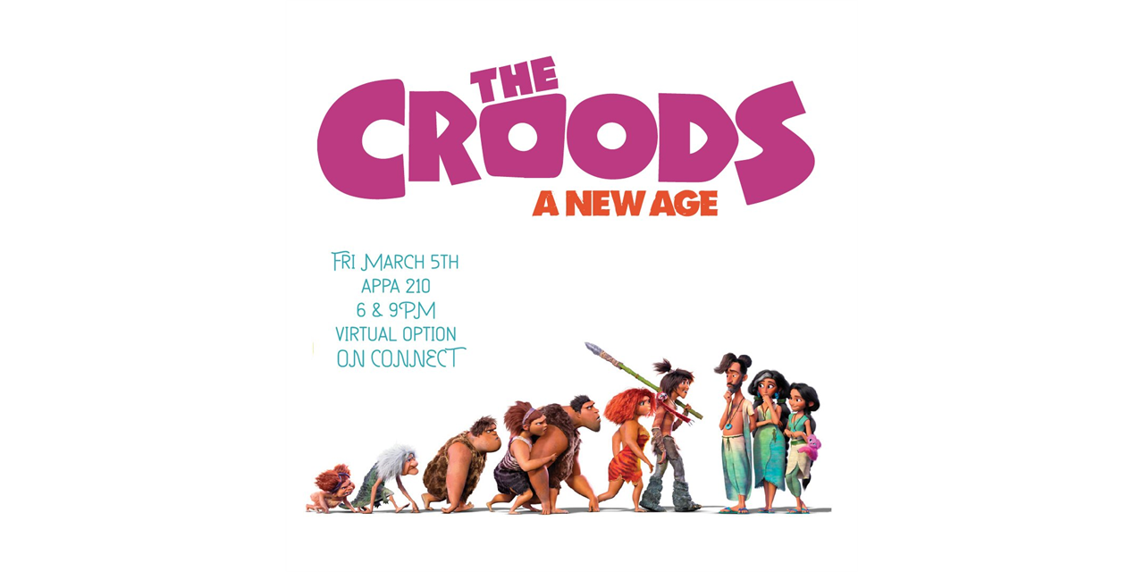 The Croods: A New Age Event Logo