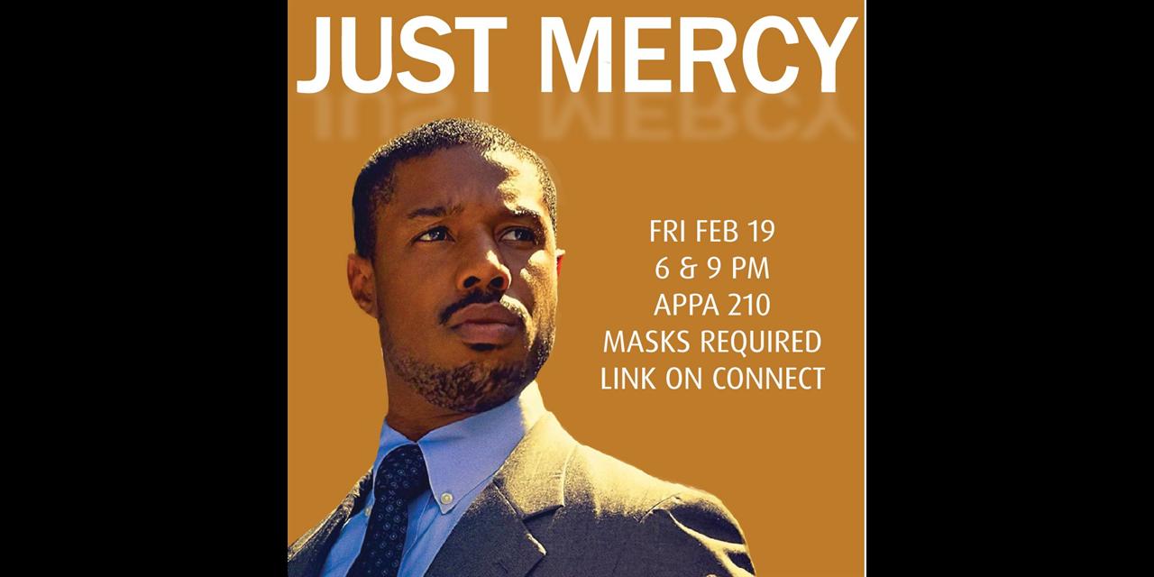 Just Mercy (Movie) Event Logo