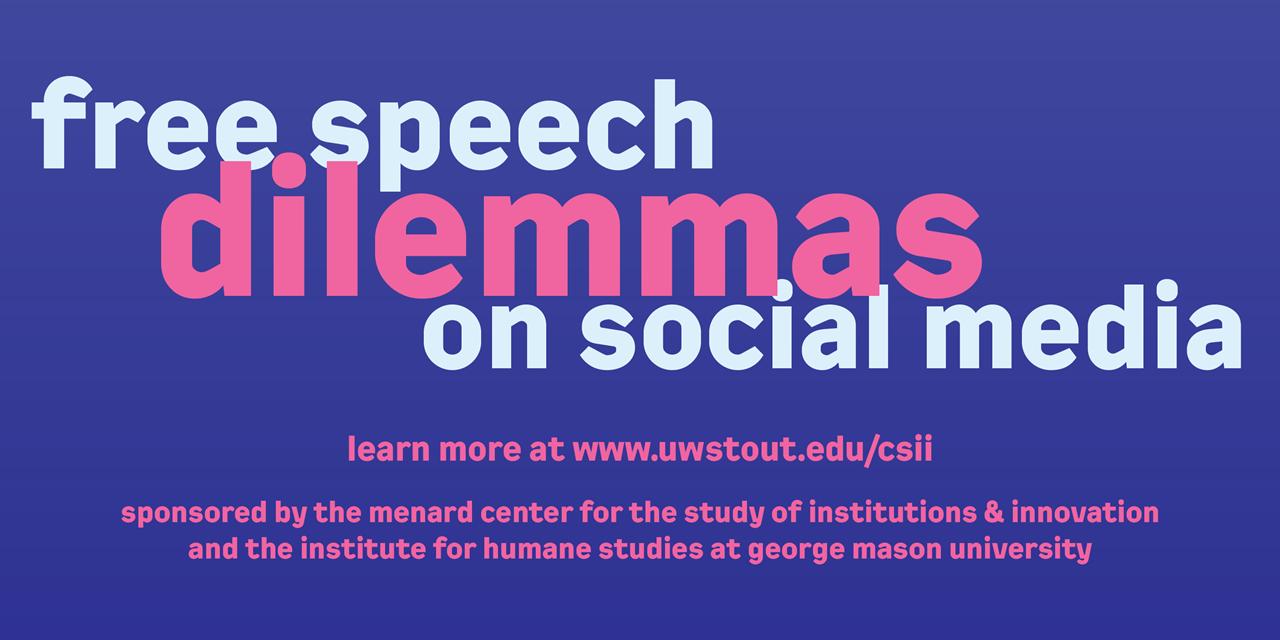 Free Speech Dilemmas on Social Media Event Logo