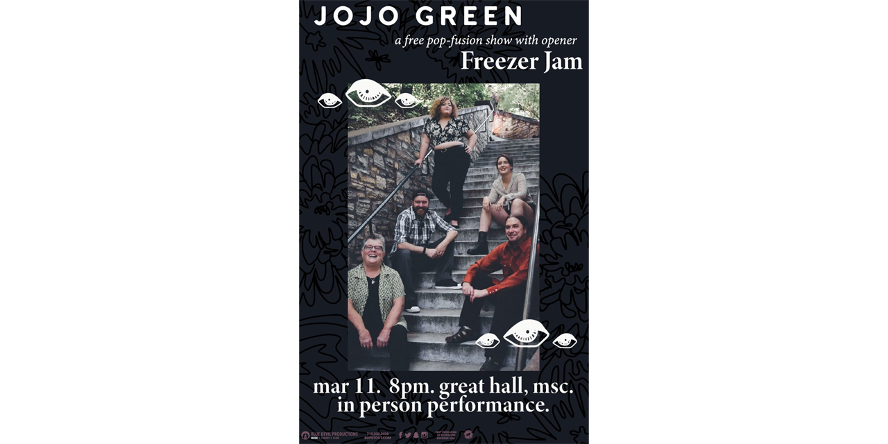 JoJo Green with Freezer Jam Event Logo