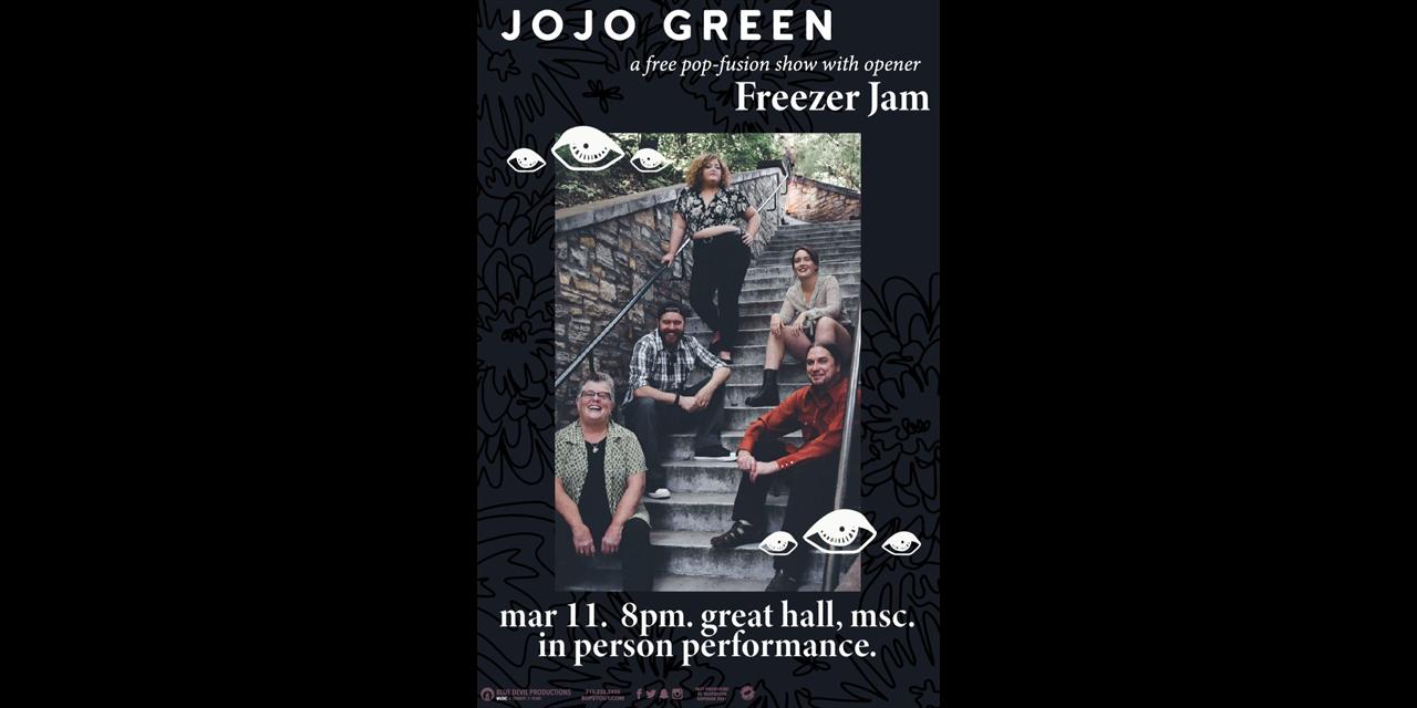 JoJo Green with Freezer Jam Event Logo
