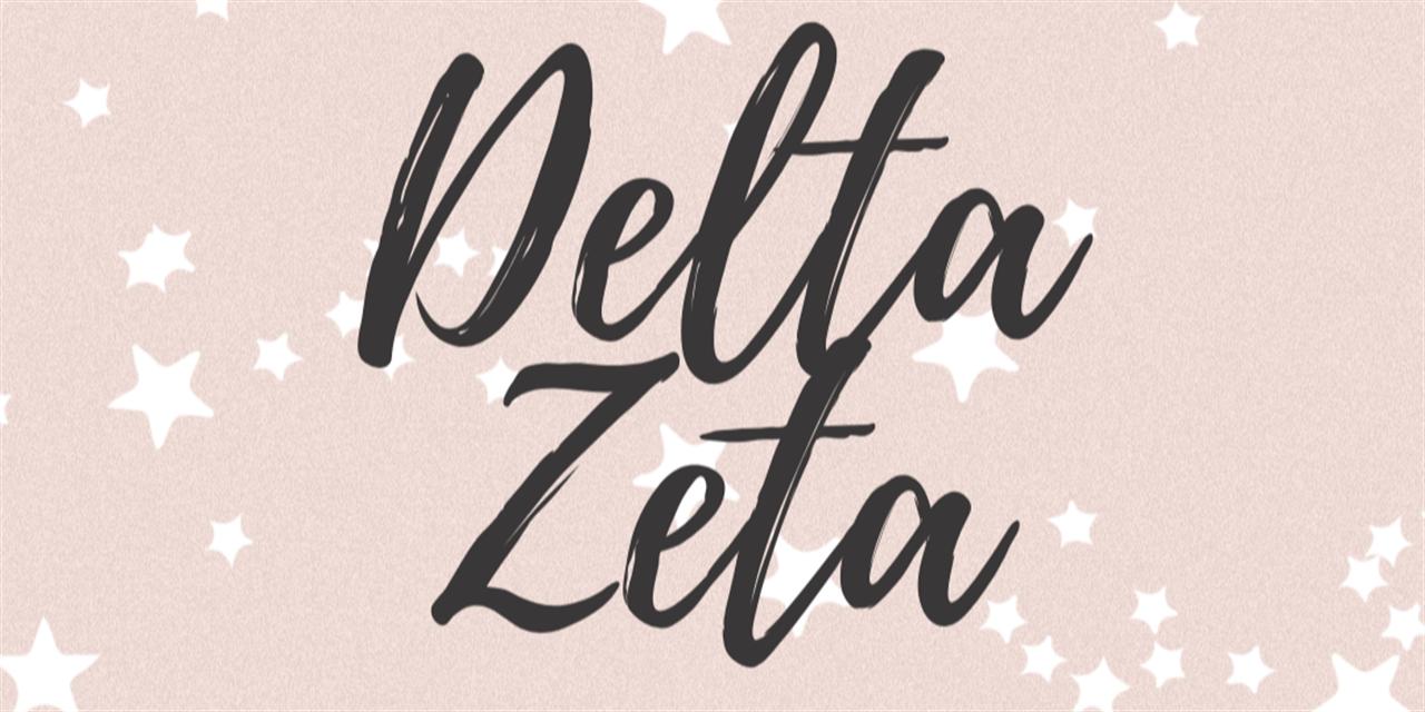 Delta Zeta Recruitment Event Event Logo