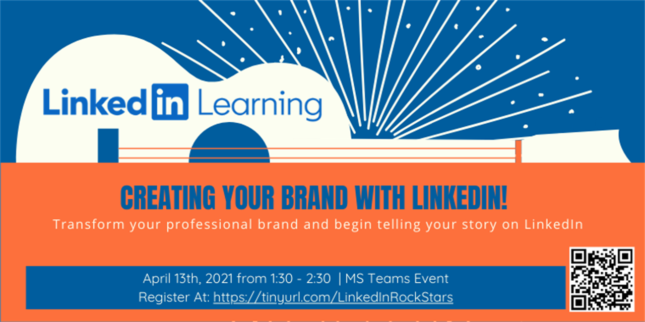 Creating Your Brand with LinkedIn! Event Logo