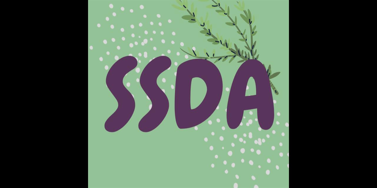 Stout Student Dietetic Association - E - Cookbook Workshop Event Logo