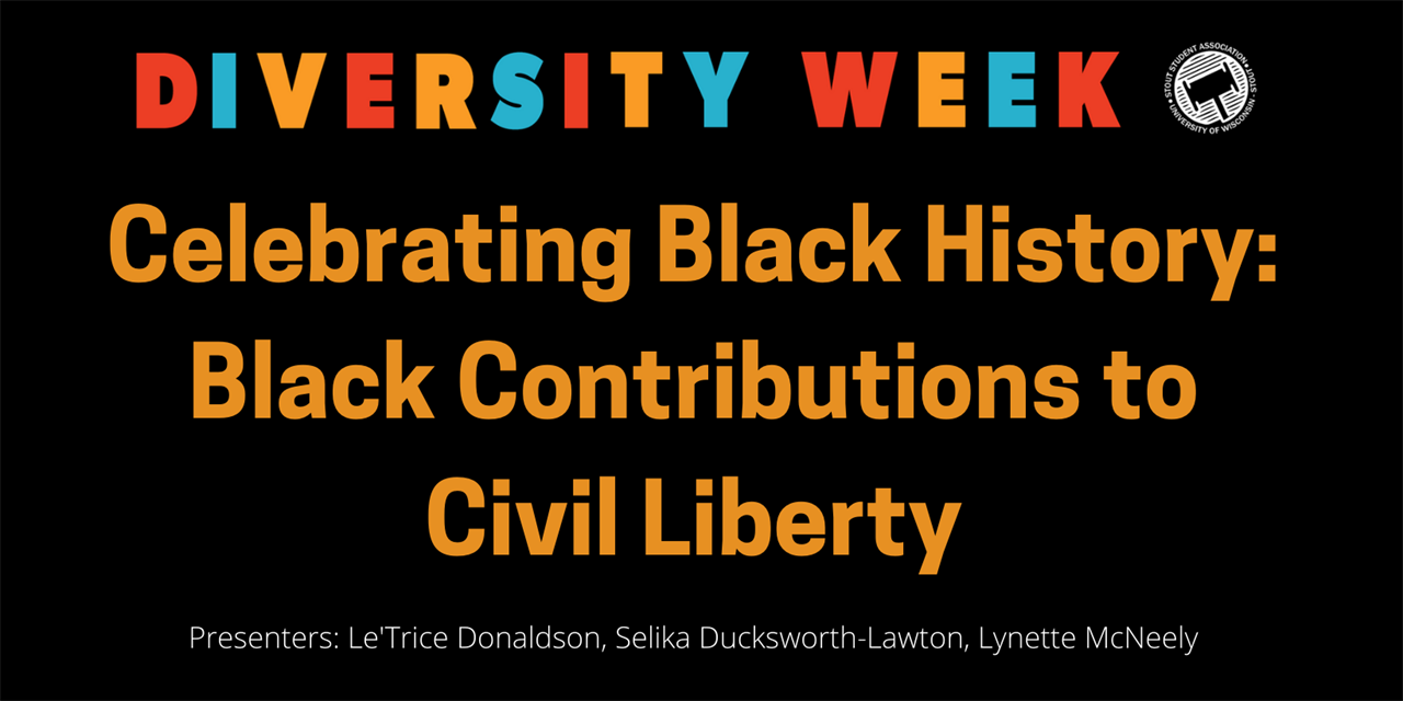 Celebrating Black History: Black Contributions to Civil Liberty Event Logo