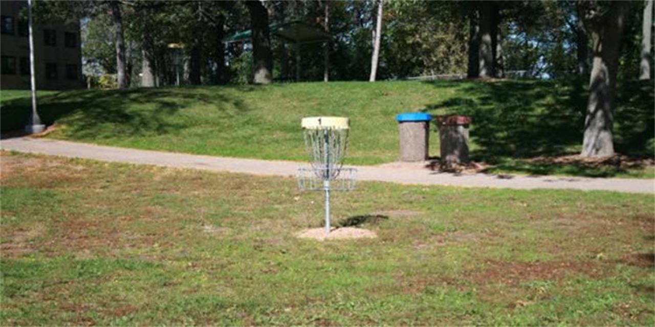 Stout Faculty/Staff Disc Golf Night | URec Event Logo