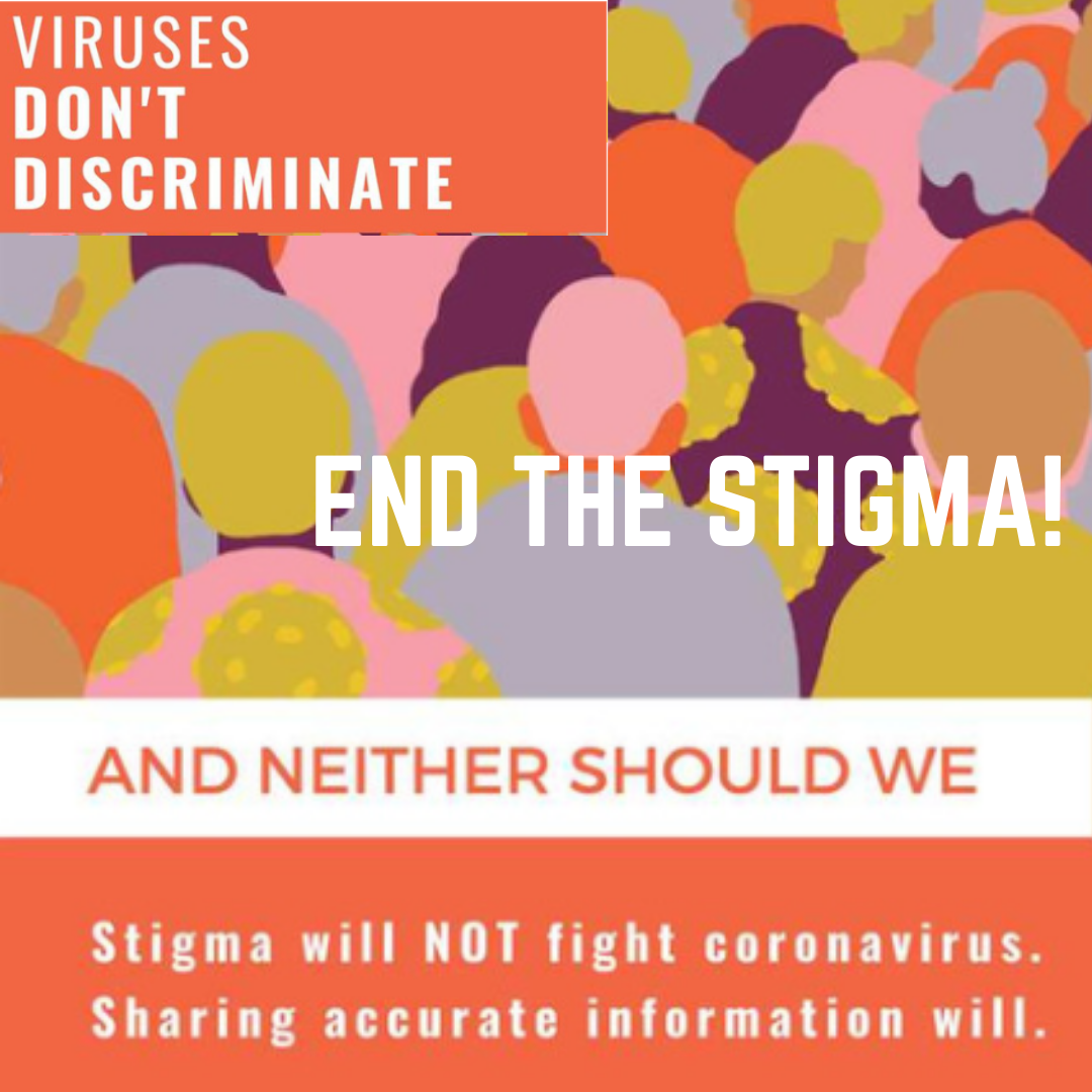 Viruses don't discriminate and neither should we. End the stigma.