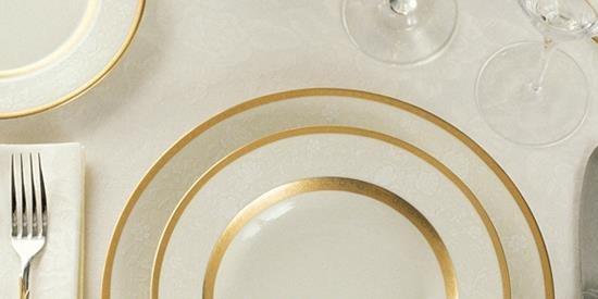 Etiquette Dinner Event Logo