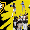 Club Baseball at VCU's logo
