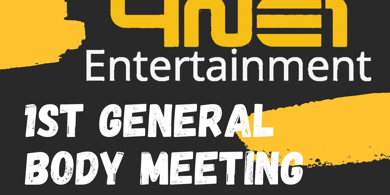 Fall '21 General Body Meeting/Interest Meeting Event Logo
