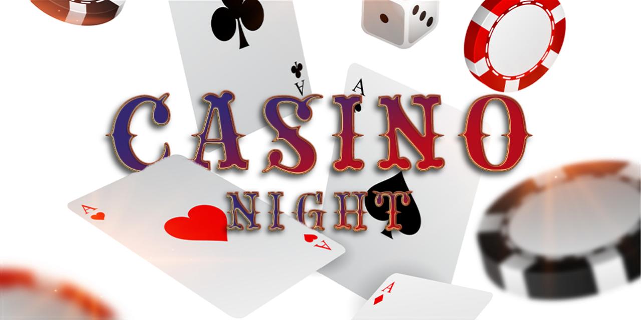 Casino Night Event Logo