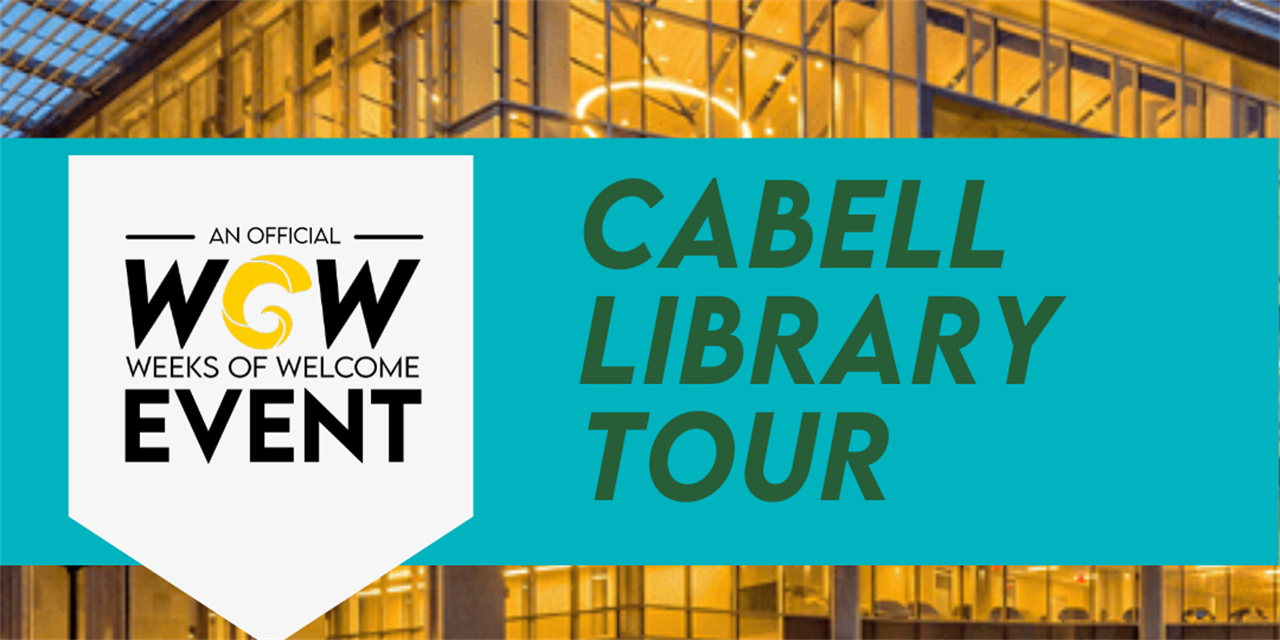 Cabell Library Tour Event Logo