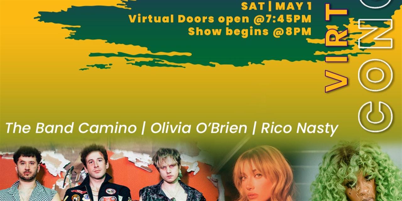 VA BACK2BACK Virtual Concert Event Logo
