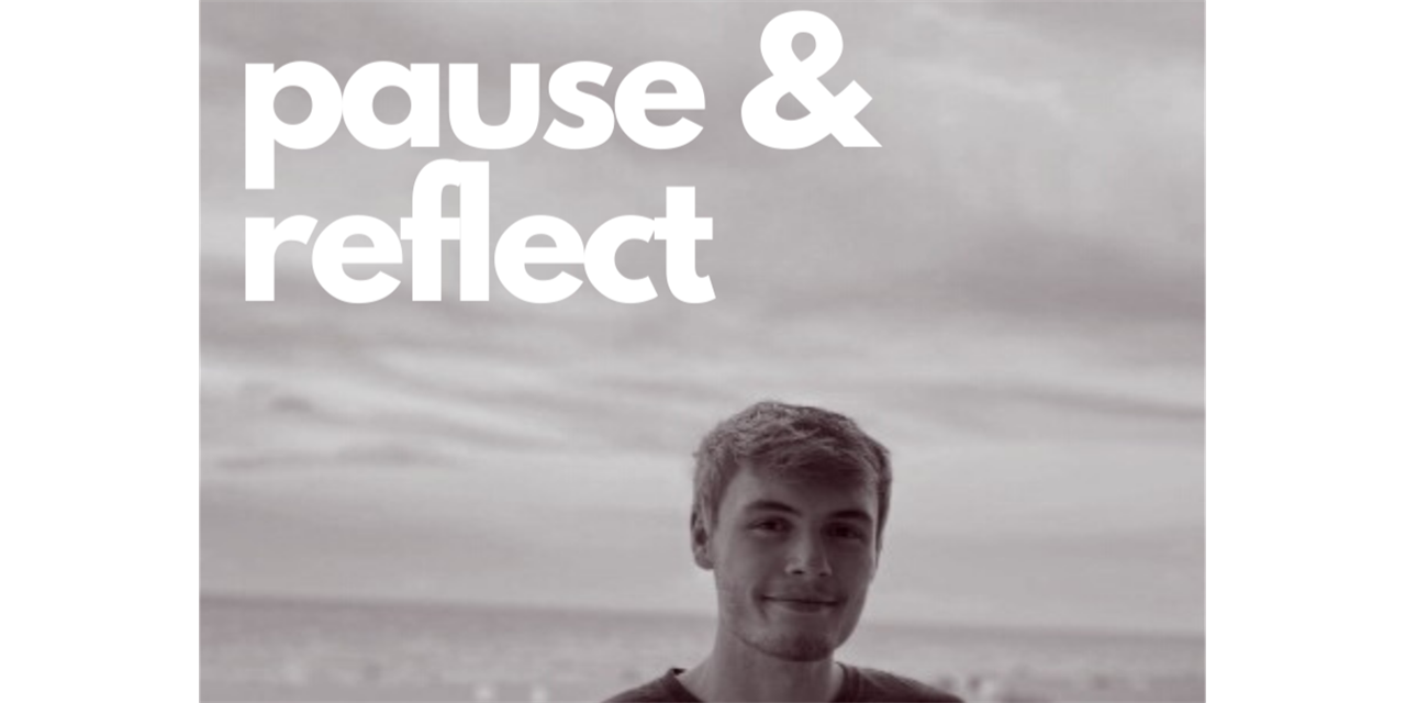 Pause and Reflect: Cody Woodson Event Logo