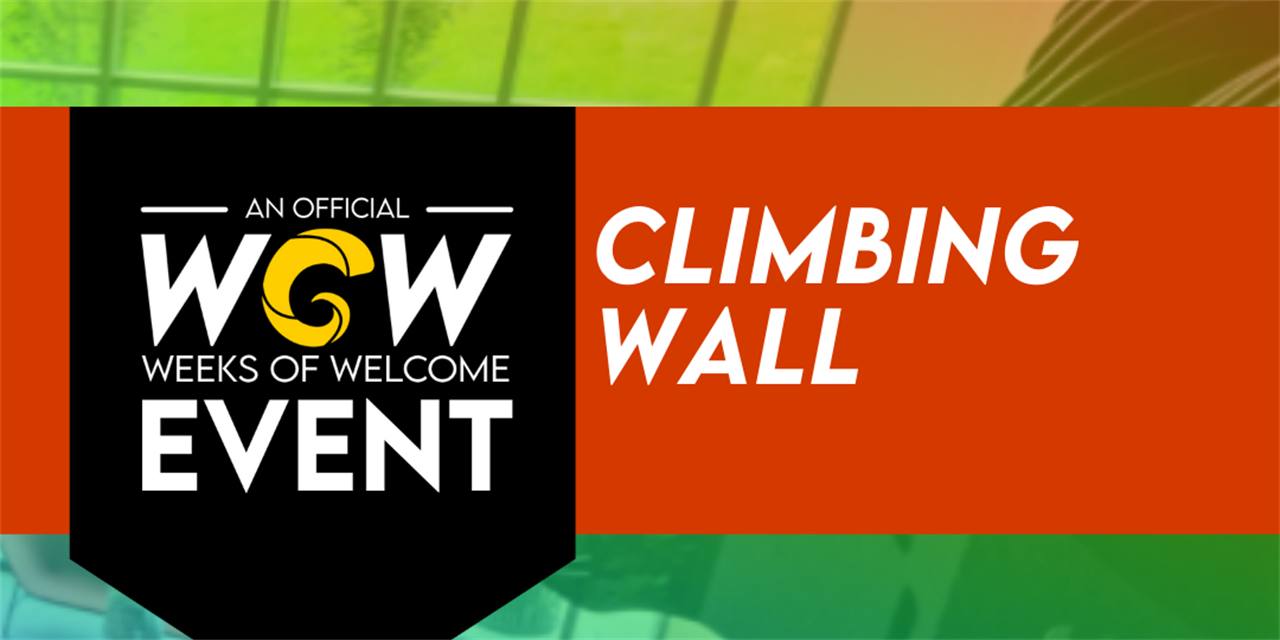 Climbing Wall Event Logo