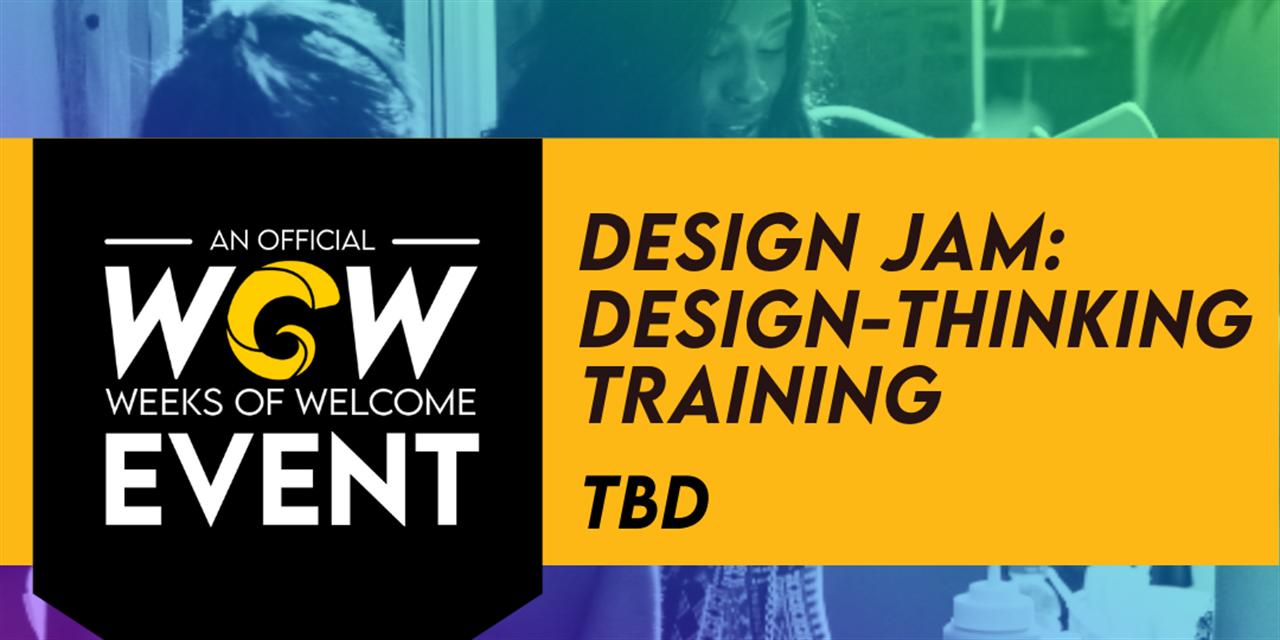 Design Jam: Design-Thinking Training Event Logo