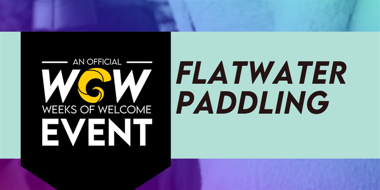 Huguenot Flatwater Canoe Event Logo